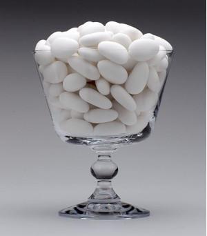 Amêndoas Confeitadas Branca-Deluxe