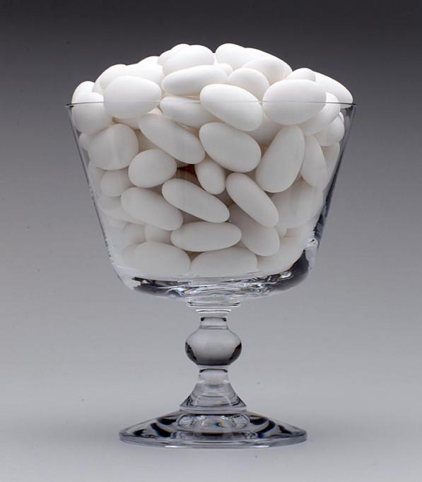Amêndoas Confeitadas Branca - Deluxe