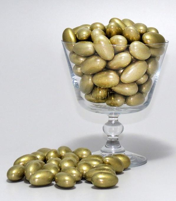 Amêndoa Confeitada Dourada - Prime