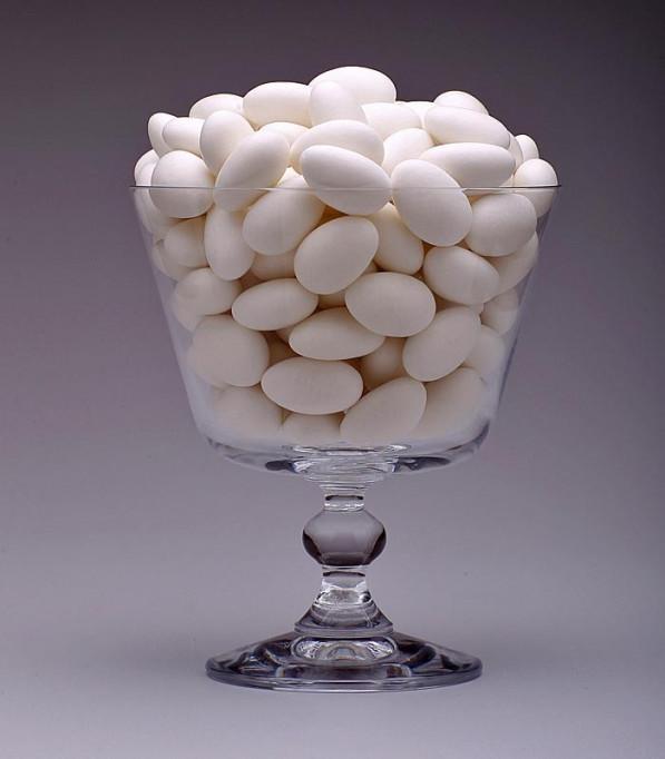 Amêndoas Confeitadas Branca-Premium